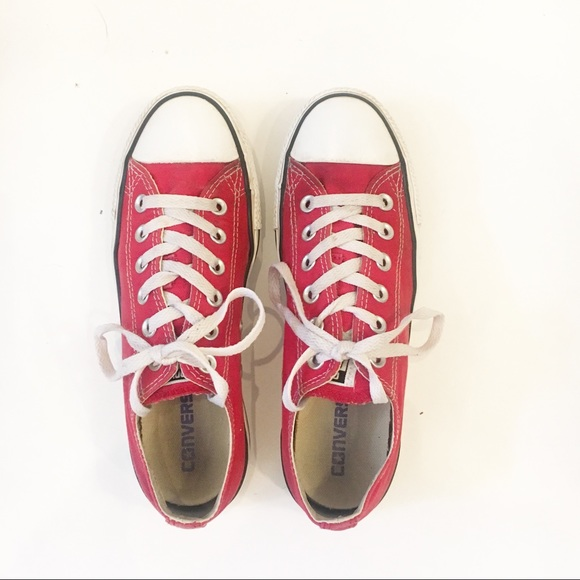 Poshmark Star Converse All Zapatos Red Uwqx7fIH